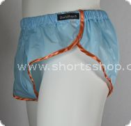 Nylon Shorts Chris aus sehr leichtem, türkisfarbenen Gewebe