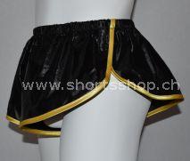 Nylon Shorts grün, orange, pink, rot, schwarz, weiss aus sehr leichtem Gewebe